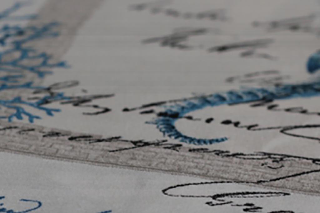 tessuto stampato per divani